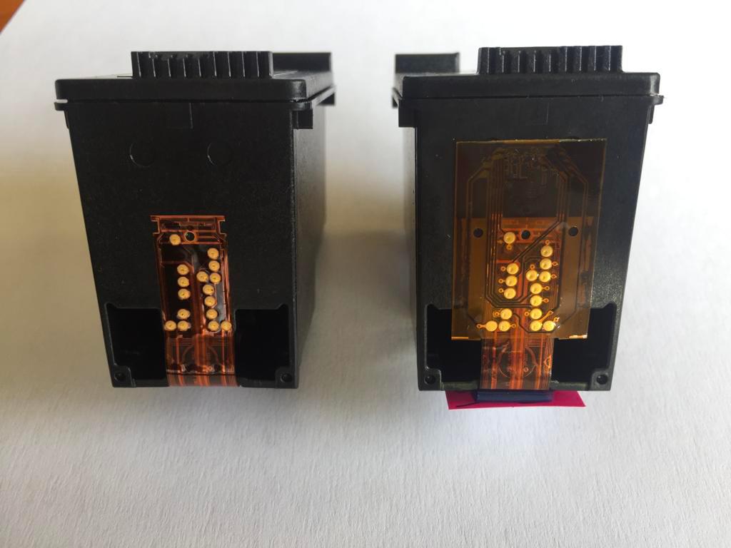 chip aggiuntivo cartuccia originale e rigenerate